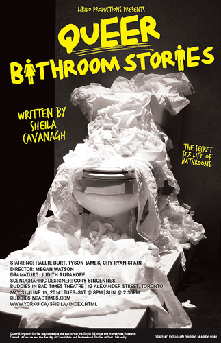 Queer Bathroom Stories Poster